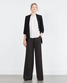 ZARA - MUJER - BLAZER CREPE Zara Looks, Winter Looks, Fall Winter, Blazer Fashion, Blazers For Women, Business Casual, Work Wear, Spring Fashion, Normcore