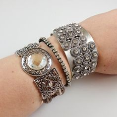 Easy Arm Candy Stack Jewelry Tutorial