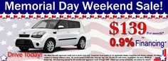 memorial day car sales dallas