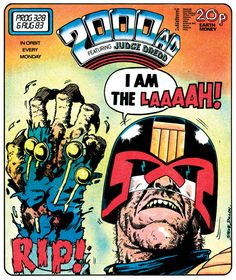 The art of Judge Dredd: 20 killer 2000 AD covers: Page 2 | Creative Bloq