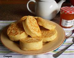 http://www.food.com/recipe/old-fashioned-home-made-english-crumpets-for-tea-time-421076