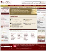 MERLOT is a great resource to find learning materials to help supplement your courses. Find lectures from other professors, free e-books, course PowerPoints, and more. Use the search bar at the top.