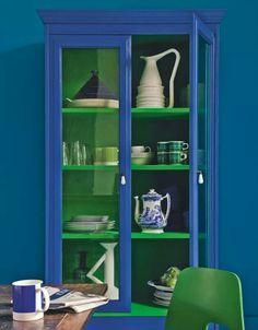 Green blue.