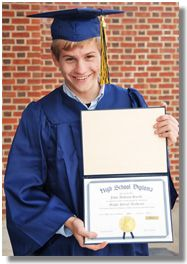 Navy Graduation Package 2012-- Personalized Diploma -- HSLDA Online Store