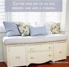 Re-Purpose your Old Dresser!