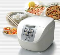 Panasonic 5 Cup (Uncooked) Rice Cooker with Fuzzy Logic and One-Touch Cooking for Brown Rice, White Rice, and Porridge or Soup – Liter – (White) White Rice, Brown Rice, Steamer Recipes, Kitchen Dining, Soup, Control Panel, Cooking, Digital