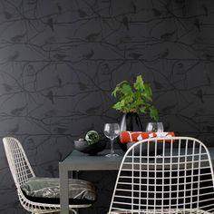 Birds in Trees Wallpaper