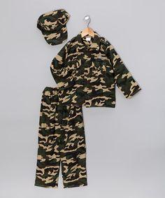 Green Army Dress-Up Set - Kleinkind & Jungs