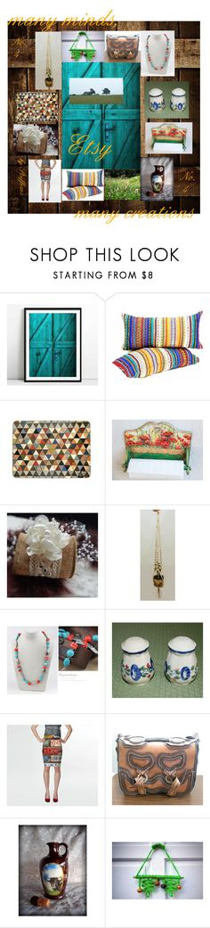 """""""many minds, many creations Etsy No.4"""" by stuffezes ❤ liked on Polyvore featuring interior, interiors, interior design, home, home decor, interior decorating, rustic, vintage and country"""