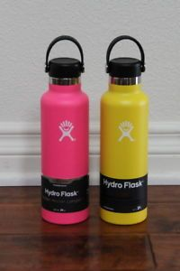 Hydro Flask 21 oz NEW 2 units - mix & match colors: blue,yellow,pink,red Hydro Flask, Mix Match, Blue Yellow, Water Bottle, 21st, The Unit, Red, Pink, Bottles