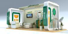 El bank Elahly Booth on Behance
