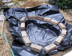 How to Build a Pond; Easily, Cheaply and Beautifully,water garden,diy,gardens,gardening   The Garden Glove