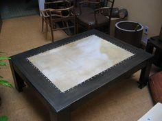 Mesa chapa con lonja   Lanzaro & Acle