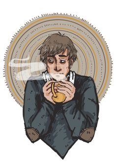 Remus Lupin by gin draws