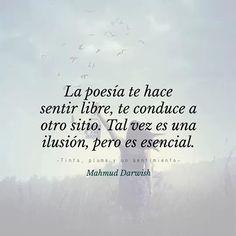 La poesía...