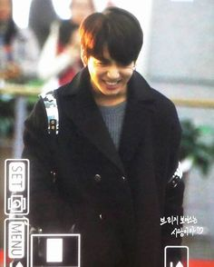 """[PREV] 160109 #BTS #JUNGKOOK Incheon Airport Departure to Taiwan"""