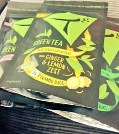 Tg Teas Ginger and lemon zest green tea