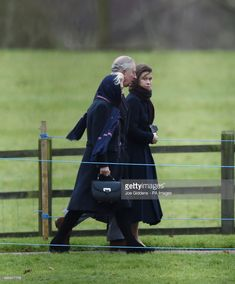 The Duchess of Cornwall, the Prince of Wales and Lady Sarah Chatto arriving to attend an early Christmas Day church service at St Mary Magdalene Church in Sandringham, Norfolk.