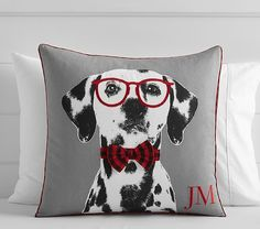 Dalmation Decorative Sham | Pottery Barn Kids