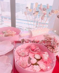 Healthy recipes for weight loss and muscle gain for women chart size Pink Sweets, Pink Desserts, Cute Desserts, Aesthetic Food, Pink Aesthetic, Cute Pink, Pretty In Pink, Mode Kawaii, Kawaii Dessert