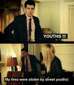 Schmidt hates youths! New Girl.