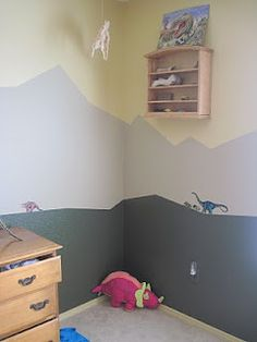 Our Crazy Life: Finished the boys Dinosaur Room