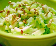 Baby Eating, Fodmap, Raw Food Recipes, Celery, Potato Salad, Cabbage, Salads, Food And Drink, Healthy Eating