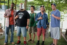 GRADE A...Grown Ups is a good movies to watch with the famliy but there are some parts to skip for the younger kids