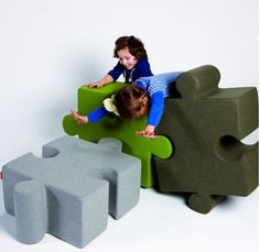 Puzzle furniture for kids!