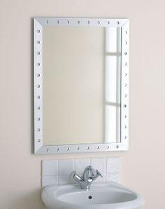 Endon EL-LANDROS Enluce Landros - Bathroom Mirror Supplied With Mounting Hooks