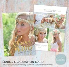 Class of 2015 Graduation Card - Photoshop Template - AG012 - INSTANT DOWNLOAD by PaperLarkDesigns on Etsy https://www.etsy.com/listing/231654476/class-of-2015-graduation-card-photoshop