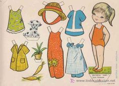 RECORTABLES BABY EDITORIAL ROMA, SERIE MUÑECAS Nº5 (Coleccionismo - Recortables - Muñecas)