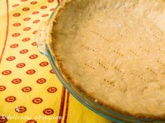 Another coconut flour pie crust – to try whenever I buy palm oil