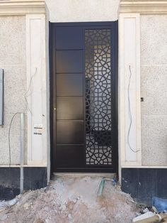 #saudiarabia #riyadh #doors #gates #design #cnc #lifestyle #modern #cadd #beautiful #metaldoor #lasercut #ابواب Pooja Room Door Design, Grill Door Design, Metal Entrance Doors, Wooden Door Design, Metal Door, Front Gate Design, Door Gate Design, Iron Security Doors, Ceiling Design Bedroom