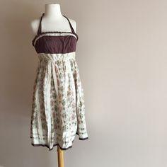 Boho Multi Patterned Dress Boho patterned dress with halter top and scrunch elastic back! Floreat Dresses Mini