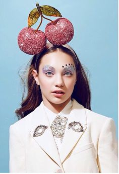 Maddie Ziegler by Juco for Paper Magazine Makeup: Mac Glitter in Silver, NARS Lipgloss in Tasmania , Wella Professional Perfect Me Hair Balm, NARS Blush in Orgasm, Kat Von D Lock-it foundation in 44 Light Maddie Ziegler, Mackenzie Ziegler, Elastic Heart, Editorial Shoot, Paper Magazine, Dance Mums, Hair Balm, Maddie And Mackenzie, Beauty Shoot
