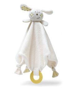 Comforter & Teething Blanket - Parsnip