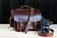 Earthy Colours at DaWanda Camera Cases – Genuine Leather Brown Camera Bag – a unique product by LIBREatelier on DaWanda