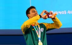 At present, 18 year old Michael Houlie is the most dominant young swimmer in South Africa and on Friday, the breaststroke specialist began his ascent as the most dominant swimmer in the world. Youth Olympic Games, 100m, My Heritage, Finals, Olympics, South Africa, Friday, China, Sun