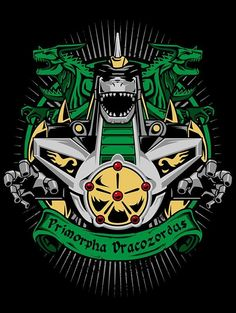 PRIMORPHA-DRACOZORDUS T-Shirt $12 Power Rangers tee at Once Upon a Tee!