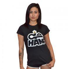 Go HAM Logo T-Shirt - Women (Black)