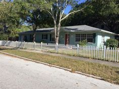 1901 10th Street North St Petersburg, FL, 33704 (Euclid St. Paul) Location, Location, Location! 3 Bedroom 1 1/2 bath, 1 c garage home with family room that could be used as 4th bedroom! Spacious open living area! Large corner lot with white picket fence! Room sizes are approximate and should be verified by buyer. Offered for 194,900.  Call Angie 727-480-5346 or Noelle 458-3405. White Picket Fence, Picket Fences, St Petersburg Fl, Open Living Area, Ranch Style Homes, Corner Lot, Property Search, Fixer Upper, Family Room