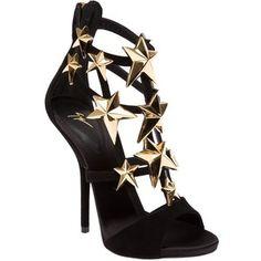 Giuseppe Zanotti Design Star Embellished Sandals