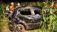 Cannstatter Wasen Acht Leute im VW Polo  Zwei Tote bei Unfall - DIE WELT
