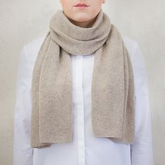 Montreal – Ivory Blush £123.00 Made from pure, Italian cashmere, the Montreal scarf is imbued with luxury that only comes from the finest quality. The classic elegance of this piece exudes a richness and softness, which belies the lightness of the fabric.