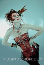 Buckskin Bustier, Leather Mask and Sterling Silver/Copper and Turquoise Jewelry by Meredith Lockhart Collections Leather Mask, Turquoise Jewelry, Mardi Gras, Westerns, Collections, Wonder Woman, Style Inspiration, Pheasant, Superhero