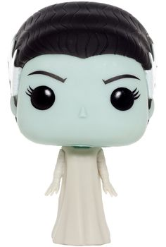 POP! MOVIES: UNIVERSAL MONSTERS FIGURINE - BRIDE OF FRANKENSTEIN Is there anything more adorable than the Pop! renditions of your favorite horror fiends?! Show off your undying love with this Bride of Frankenstein figurine. This Universal Monster stands 3.75 inches tall and will look great on your desk or shelf! Collect them all for a spooky good time! $12.00 #universalmonsters #classicmonsters #horror #brideoffrankenstein #frankenstein