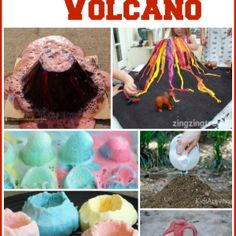10 Ways to Make a Volcano with Kids