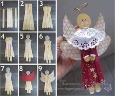 Gallery.ru / Фото #2 - поделки из медицинских шпателей или палочек от мороженого - Vladikana