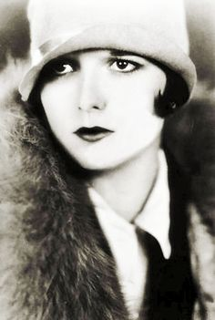 Louise Brooks 1920's from vintagegal on tumblr ?  Loads of great picture there, but ... **Caution - some adult content**